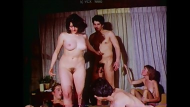 Group of Friends Having An Orgy