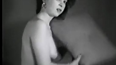 Girl vintage stag film 1950-60s