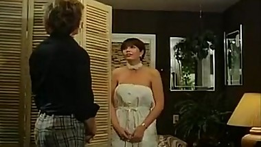 Desiree Cousteau, Paul Thomas in spying on a fucking couple from classic porn