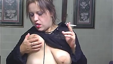 Smoking Makeup for You - ALHANA WINTER - Vintage RottenStar Amateur Clip