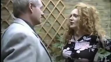 Redhead Gets Caught Smoking And Has To Shag Her Boss