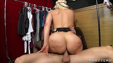 Vintage dancer has a perfect rack and a love for cock