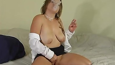 Smoking Fetish Simplicity - ALHANA WINTER - RottenStar Vintage Video