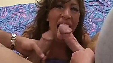 Horny Wife Fucks 2 Hard Cocks