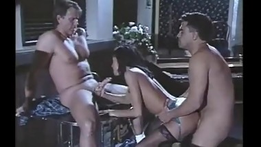 Hank Armstrong & Anna Malle 3way DP with Bobby Vitale from Thin Ice(1997)