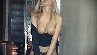 YOU BETTER STOP - vintage British blonde striptease