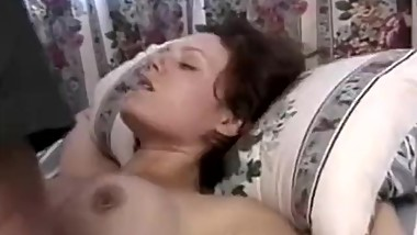 Doggystyle vintage babe sucks oldmans cock