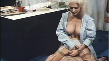Vintage Quick Ride by Big Breasted Blonde