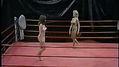 name the vintage wrestling/catfight video company or title 78