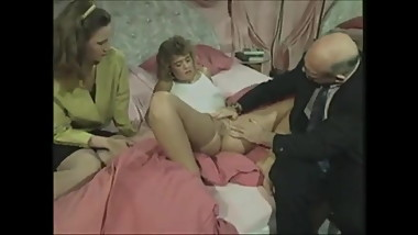 Vintage German family - the doctor visit