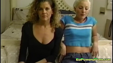 Two Curvy Bitches Banged in an Ffm Threesome