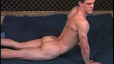 Hot Guy strip and stroke