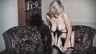 STAY WITH ME - vintage British hairy striptease dance