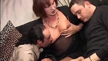 Vintage Mature Transgender Threesome