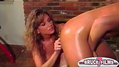 Oiled up nineties lesbian
