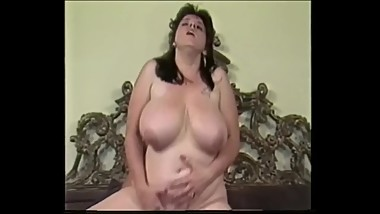 Vintage Big Tit BBW Candye Kane Fucked by Peter North