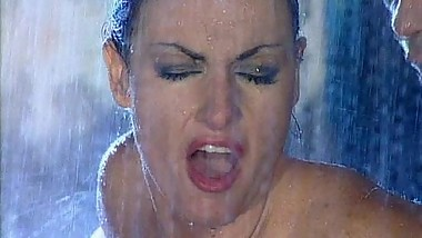 Laura Angel Gets Wet and Wild in the Rain