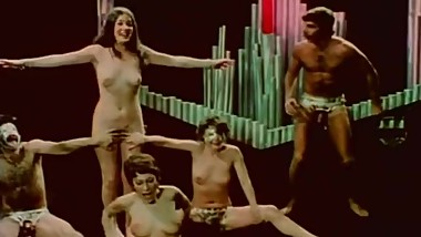 vintage orgy with Jeffrey Hurst, Georgina Spelvin, Andrea True, Harry Reems
