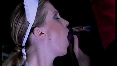 Daniella Schiffer  White maid fucked by a horny black servant