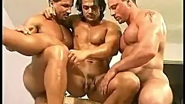 Trio Muscle Worship
