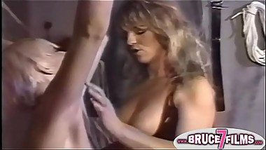 Nipple clamped 90s lesbo