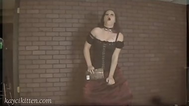 Redhead Victorian Sybian Beautiful Agony style Multiple Orgasms