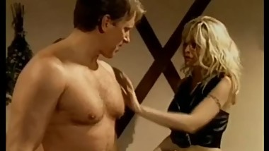 Hank Armstrong and blonde dominant Shelby Stevens