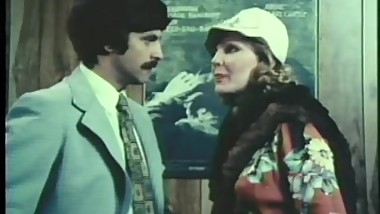 Jeffrey Hurst & Rebecca Brooke in vintage soap opera spoof sex