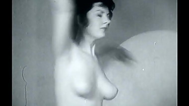 Vintage Topless Dancer (c. 1950s-60s)