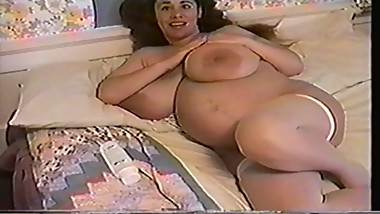 Pregnant step mom with big ass
