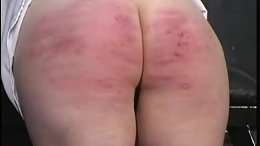 Military Caning 1
