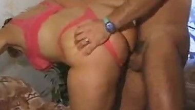 Big ass German MILF fucks lucky dude