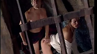 Woman abused in cell by jailer in front of her tied up husband