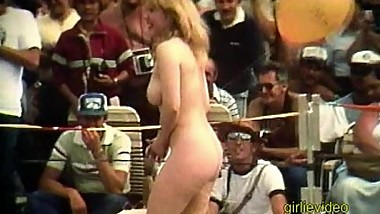Vintage Nude Beauty Contest